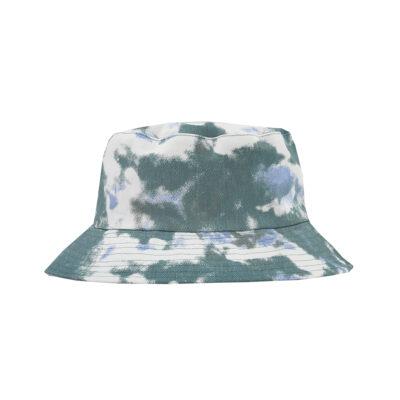 TIE DYE BUCKET HAT- BLUE