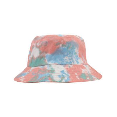 TIE DYE BUCKET HAT- ORANGE
