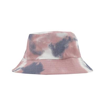 TIE DYE BUCKET HAT- PINK