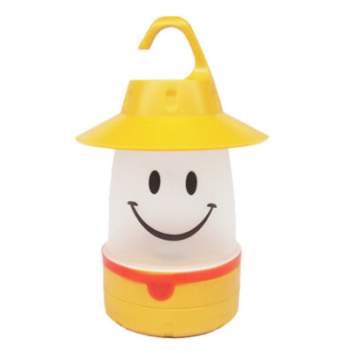 LED SMILE LANTERN - YELLOW