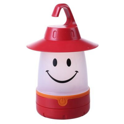 LED SMILE LANTERN - RED