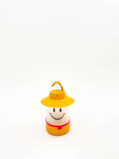 LED SMILE LANTERN - YELLOW