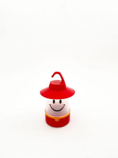 LED SMILE LANTERN - RED