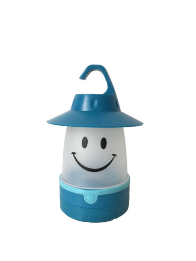 LED SMILE LANTERN - BLUE