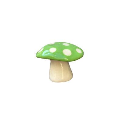 MUSHROOM INCENSE HOLDER - GREEN