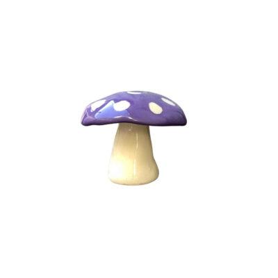 MUSHROOM INCENSE HOLDER - PURPLE